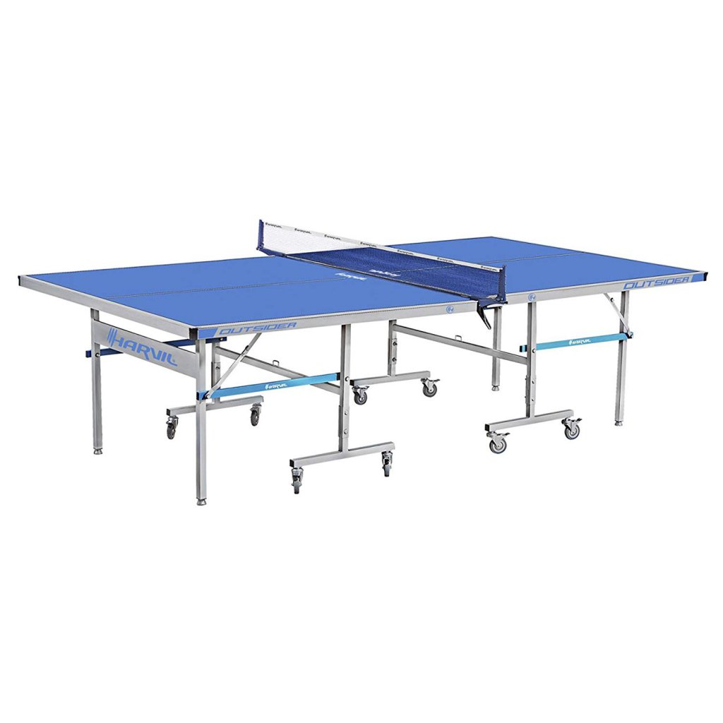 9. Harvil Outsider Table Tennis Table