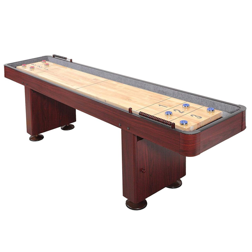 urface Home Gameroom Shuffleboard Table with Pucks