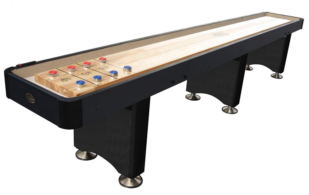 2. Playcraft Woodbridge 9 feet Shuffleboard Table