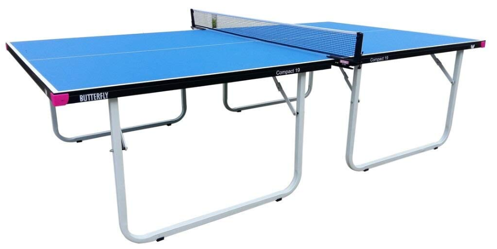 Butterfly Compact 19 Table Tennis Table with Net Set