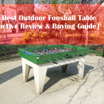 Top 7 Best Outdoor Foosball Table [Interactive Review & Buying Guide]