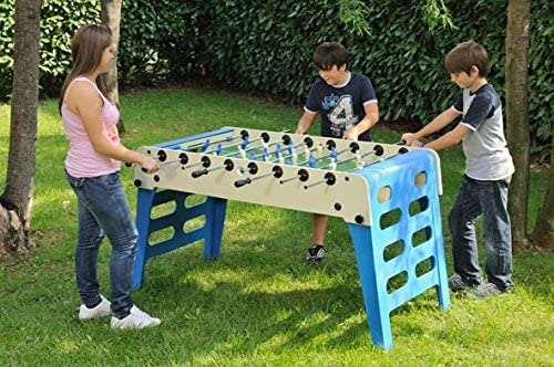 Garlando Open Air Indoor/Outdoor Weatherproof Foosball/Soccer Folding Game Table