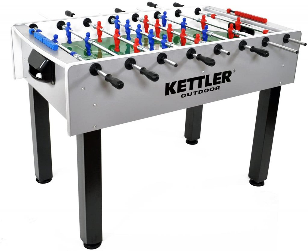 Kettler Carbon Outdoor Foosball Table
