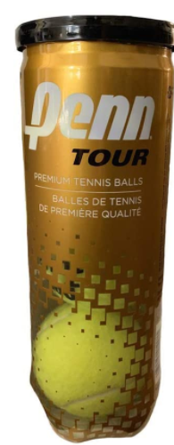 Penn 521190CAN ATP World Tour Reg Duty Tennis Ball Can