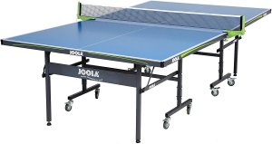 JOOLA NOVA - Outdoor Table Tennis Table with Waterproof Net Set - 10 Minute Easy Assembly - All Weather Aluminum Composite Outdoor Ping Pong Table
